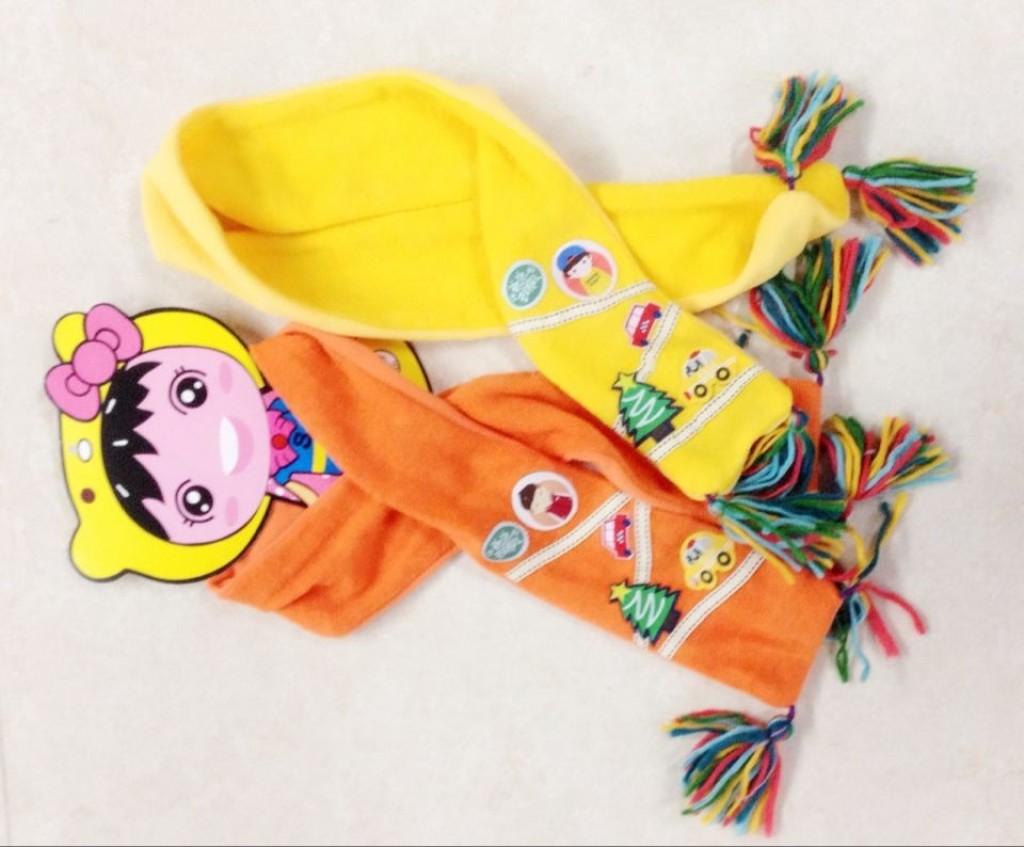 儿童围巾的各种围法 图片合集