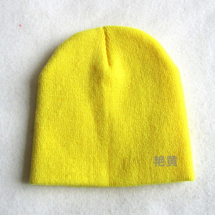 光板针织帽子织法