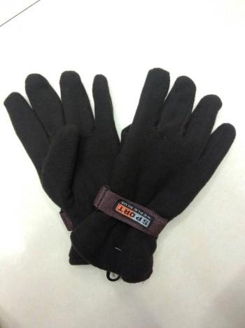 Foreign trade fleece gloves men gloves ski sports gloves bag with gloves