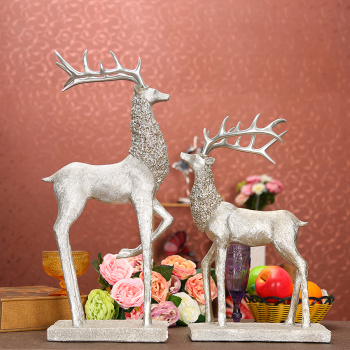 King size deer living room TV cabinet furniture home accessories-style decorations wedding gifts crafts