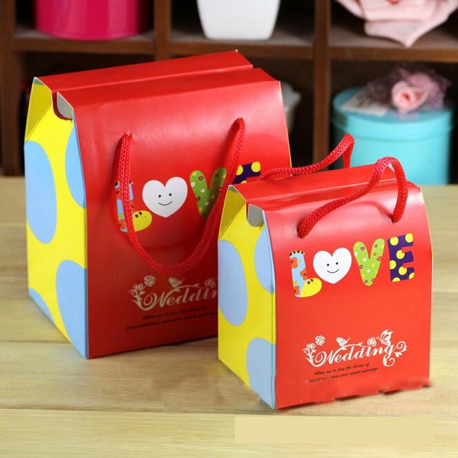 创意个性喜糖盒欧式 礼品盒 回礼袋 手拎袋批发_ 卓海