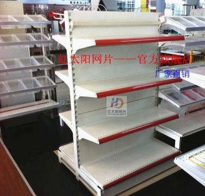 Double hanging type back shelf 100*84*160 four layer supermarket shelves