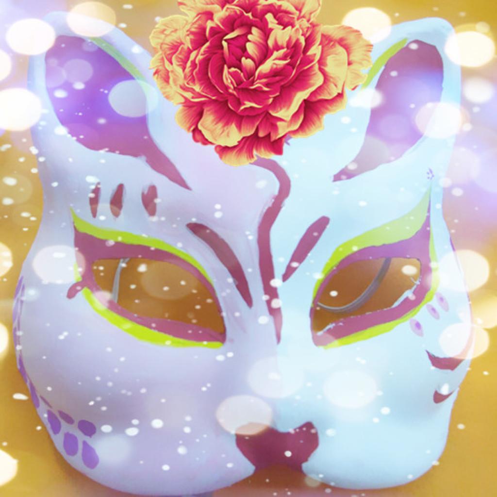 日本狐狸面具