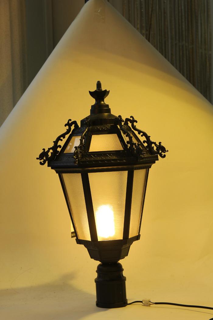 欧式户外围墙灯防雨柱头灯室外防水庭院灯