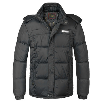 The explosion in older men's cotton foreign trade winter men's feather padded thick warm dad thick cotton padded jacket
