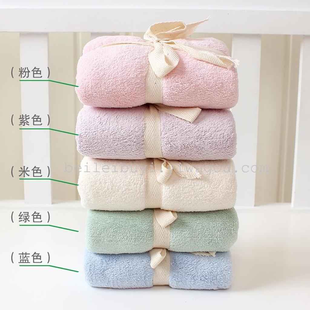 il tempo libero sfogo multicolore coral nuovo marchio di fabbrica asciugamano caldo assorbente asciugamani adulti e bambini in generale