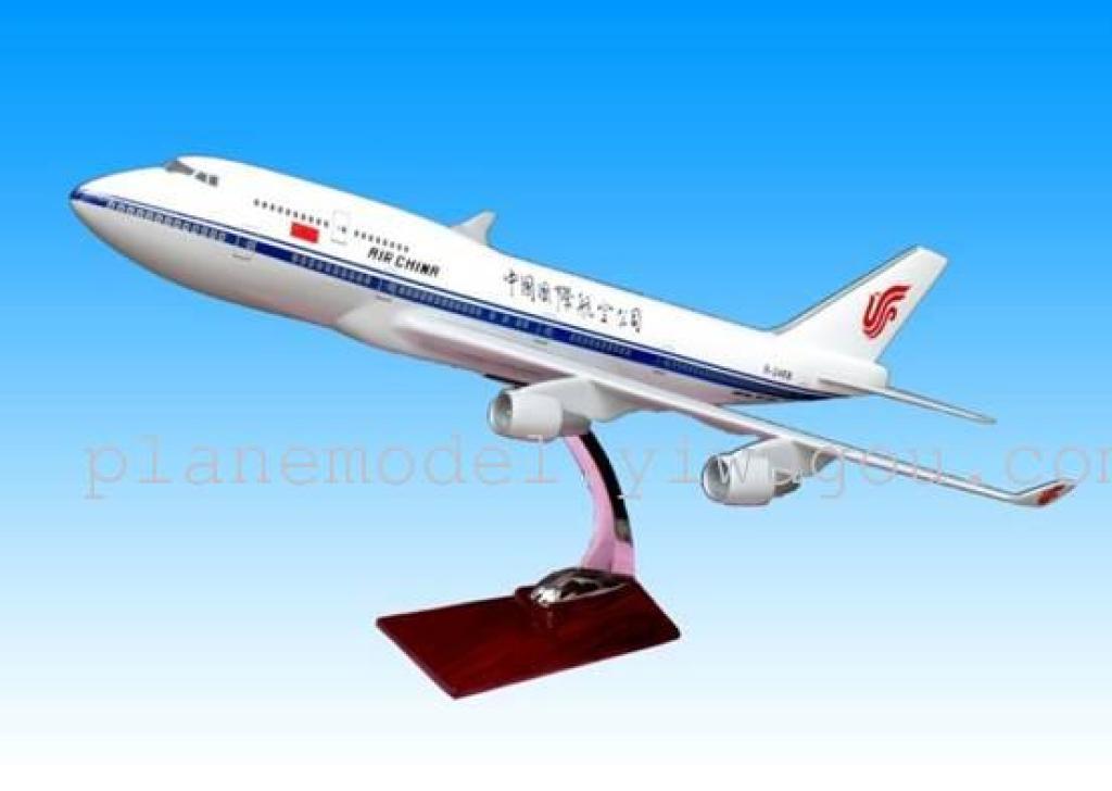 飞机模型(中国国际航空b747-400)树脂飞机模型