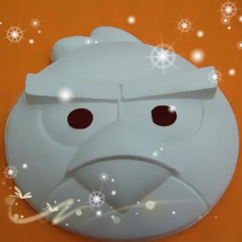 diy纸浆环保面具 可爱的动物模型
