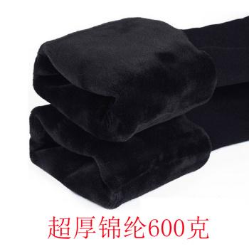 650G nylon velvet pants super soft thin thickening of one foot
