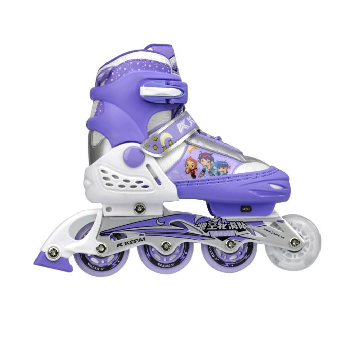 f1 m1科牌卡通轮滑鞋套装