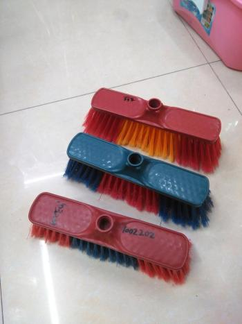 Short plastic broom broom broom broom head foreign trade 1020