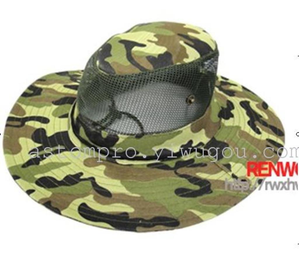 Outdoor fishing Cap sun visor military battle caps a fisherman Ben Nepal  mountaineering Camo Hat b2de8642cb1