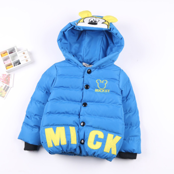 Fall/winter 2014 new children's winter jackets coats for boys and thickened down cotton-padded clothes baby and children's clothes