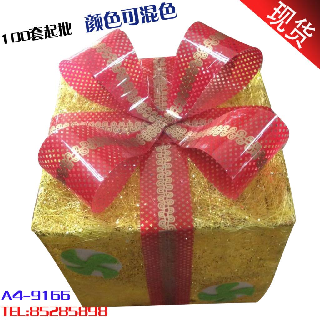 高档全手工制作新年圣诞装饰礼盒