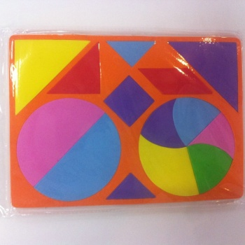 Factory direct magnetic EVA alphanumeric preschool educational toys puzzle magnetic puzzle