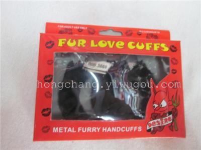 Plush Toy handcuffs handcuffs sexy handcuffs handcuffs dice for children series