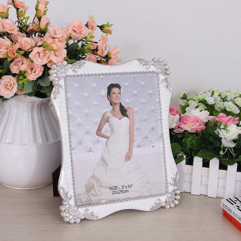 Фото рамка жемчужная свадьба