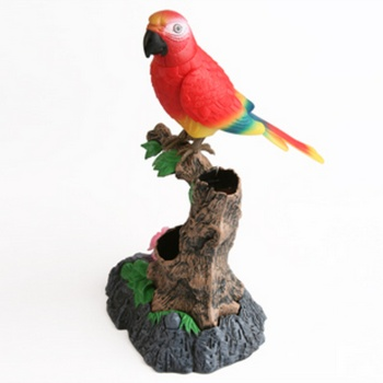 Plastic voice-activated Parrot talking/singing bird voice-activated sensor electronic pet toys