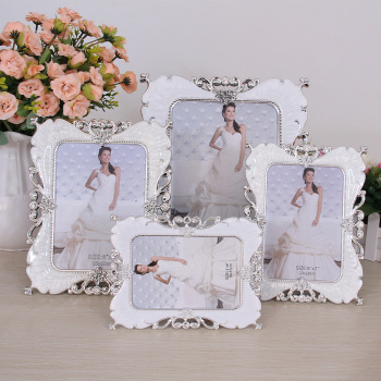 Continental 6/7/8/10 inch Pearl creative photo frames set up wedding gifts 613