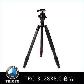 TRC-3128X8.C+B-2 TRIOPO carbon fiber tripod tripod photography accessories