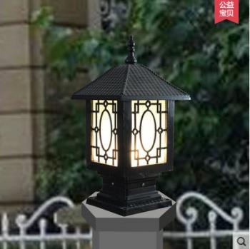 柱头灯 围墙灯柱头灯门柱灯户外庭院灯欧式门