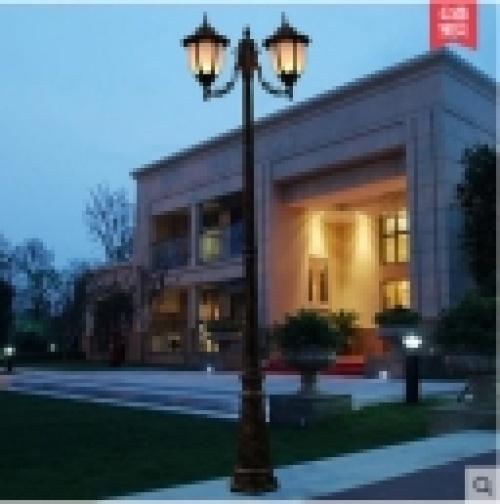 Courtyard light lawn light lights outdoor lights, outdoor lights Reed continental garden lamp head high pole Streetlight