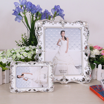 Wedding photo frame photo frames in Yiwu manufacturers set up Pearl picture frames wholesale 620