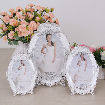 Beautiful wedding photo frame photo frames in Yiwu manufacturers set up Pearl picture frames wholesale 623
