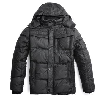 Foreign trade fall/winter men's padded down coat Korean Hoodie increase plus fat coat winter coats jackets
