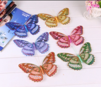 Factory direct supply of decorative Butterfly clip magnet pins
