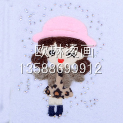 White tear Cap candy girl hot hot hot chart customized wholesale jeans/clothing/shoe bag[Olin Garment accessories]