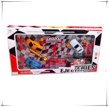 6688-104C window boxed ejection simulation vehicle sets, educational toys,