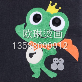 [OULIN] small accessories series of heat transfer of hot tear animal heat wholesale custom clothes / shoes.