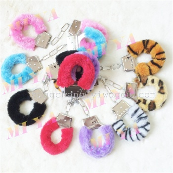 Furry handcuffs sexy handcuffs bracelet thingies