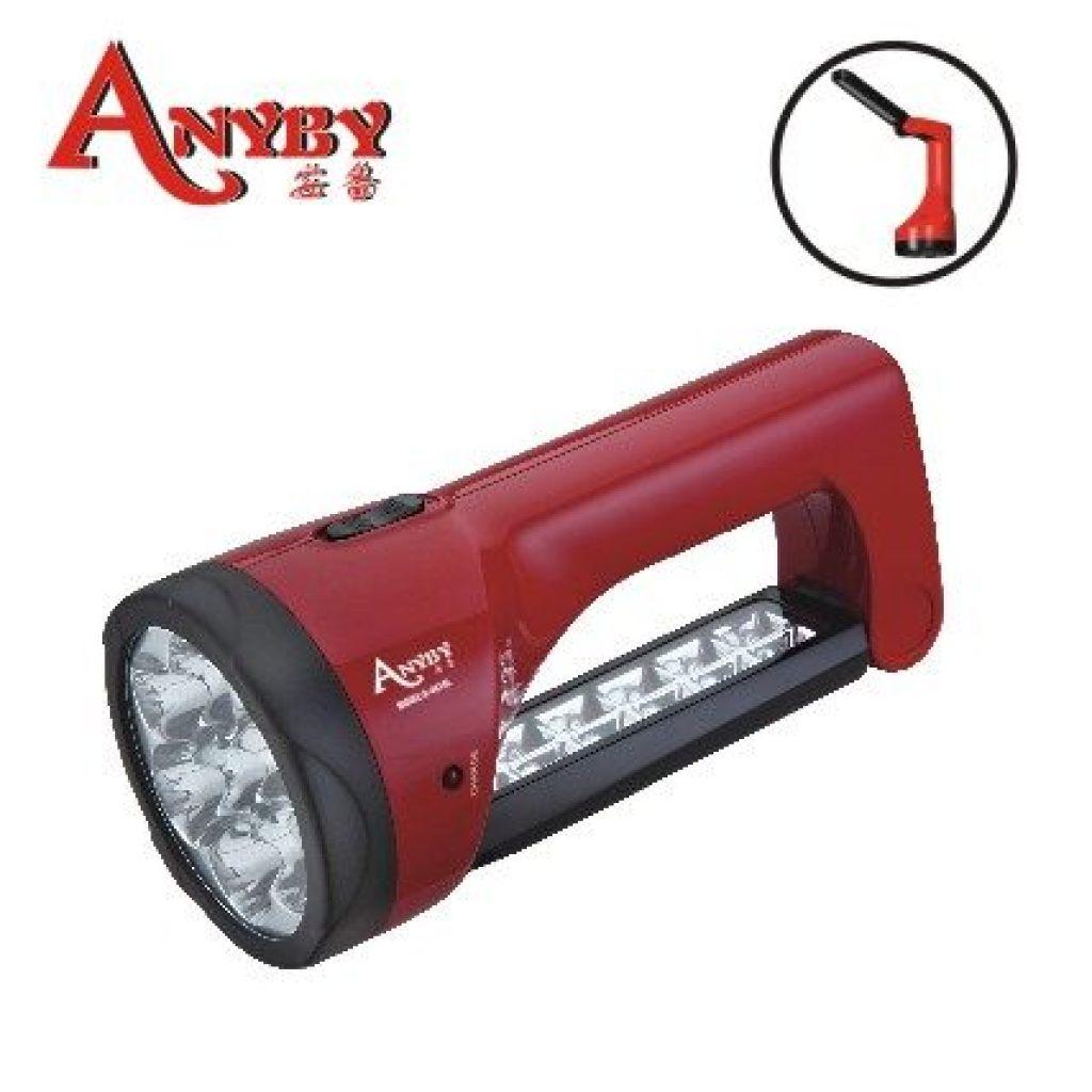 安备 多功能可充电式led手电筒 a-4018l