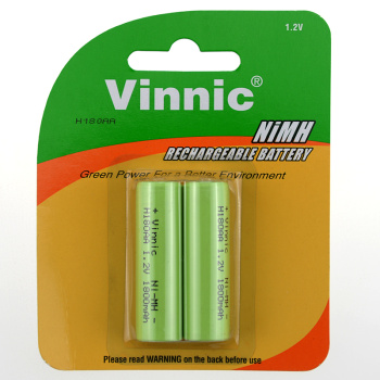 VINNIC 5th rechargeable battery