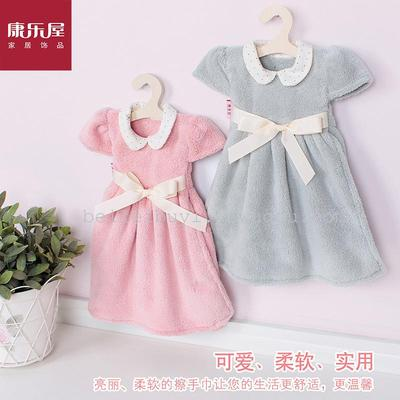 Leisure brand manufacturers selling coral fleece absorbent towel small clothes home gift sewing gifts