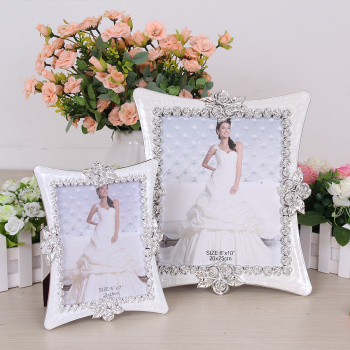 Factory direct drop oil wedding photo frame 7-inch 10-inch picture frames wholesale custom 728
