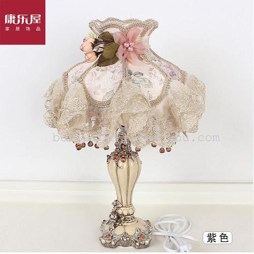 Recreation House factory outlets and creative lace fabric rustic table lamps, home decoration home sewing gifts