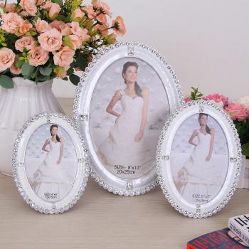 European creative table 6/7/8/10 inch Pearl photo frame wedding gifts 625