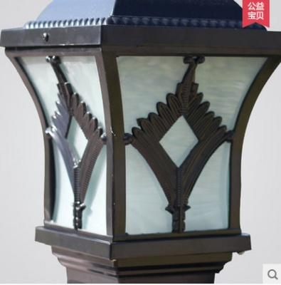 Rustic post lights veranda outdoor lighting Wall lamp lamp headlamp waterproof floor lamp Wall lamp lawn lamp