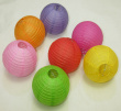 Factory direct products color style paper lanterns wedding decorations in different colors mixed batch