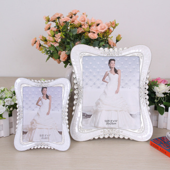Continental 6/7/8/10 inch Pearl creative photo frames set up wedding crafts 727