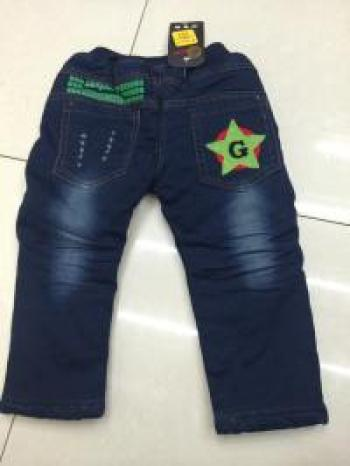 The little boy cowboy star thick jeans