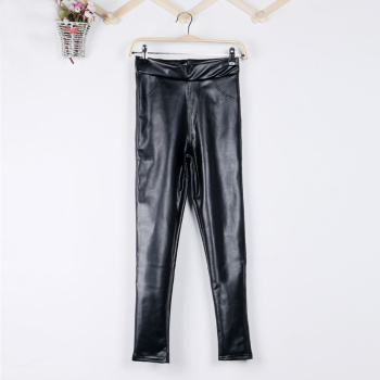 2014 Winter new style-Korean edition cashmere ladies ' slim added to thicken thin Pu leather pants leggings pants