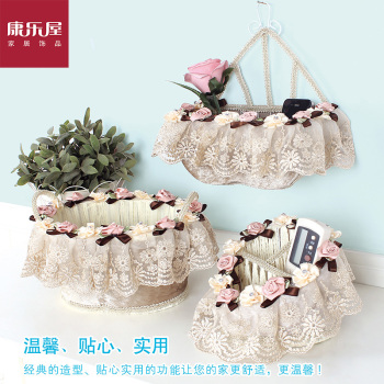 une usine de dentelle loisirs logement stockage direct de mouchoirs en tissu panier panier cadeaux pour la maison de couture luxe