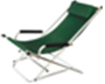 Dual recliner couch canvas backrest Office lunch break lazy lounge chair beach chair chairs folding chair