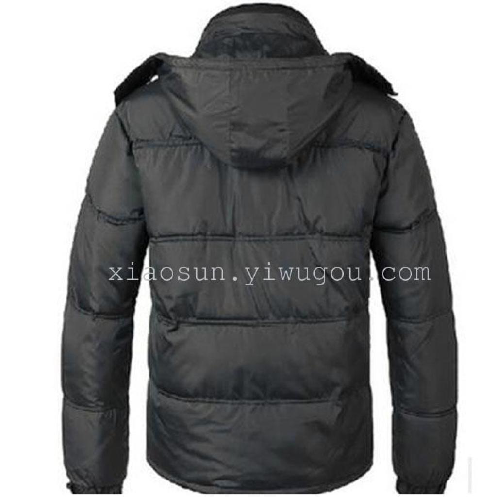 le esplosioni di mezza età e gli uomini piu 'anziani' cappotto cappotti uomini cotone imbottito papà giacca cappotto caldo