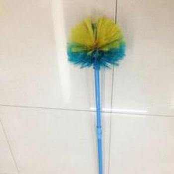 Colorful scalable extension of household dust broom sweep the long handle brushes the cobwebs of smallpox dusting brush