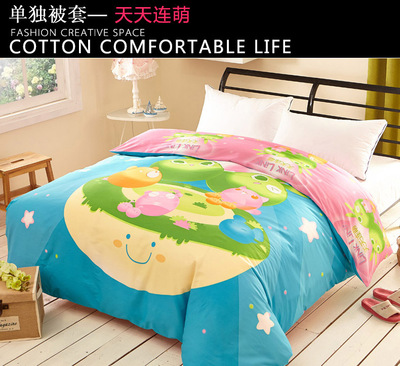 Yiwu snow pigeon wholesale it cover sheet cotton cotton half cotton cotton - 100% cotton bedding.